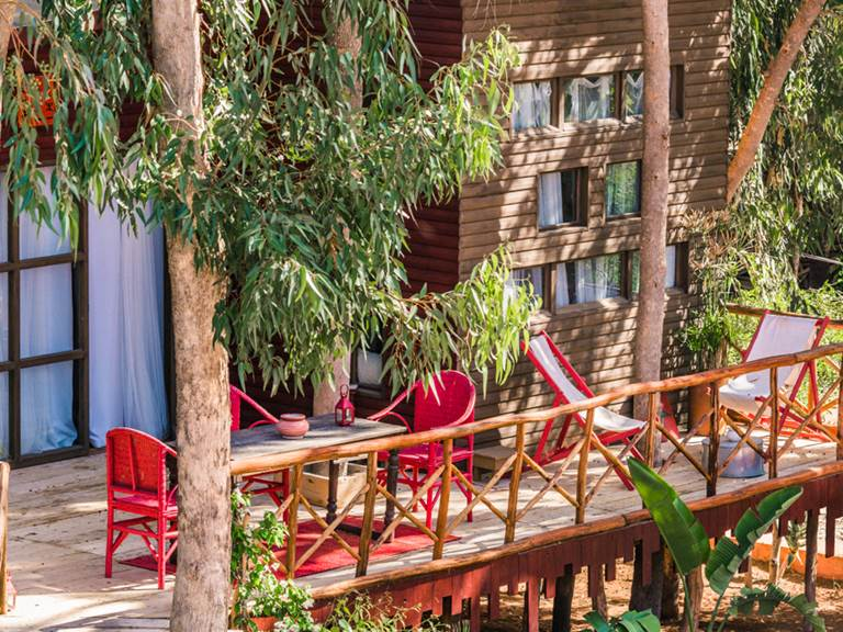 riad Baoussala Essaouira - Suite Taabiha - terrasse