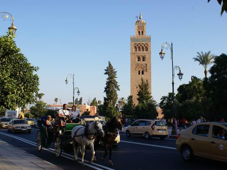 koutoubia-calèche-marrakech