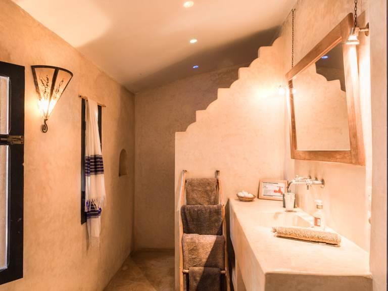 riad Baoussala Esaouira - suite Hammam -salle de bain