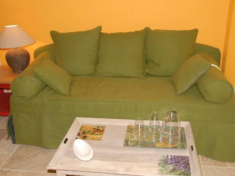 Le canapé lit double