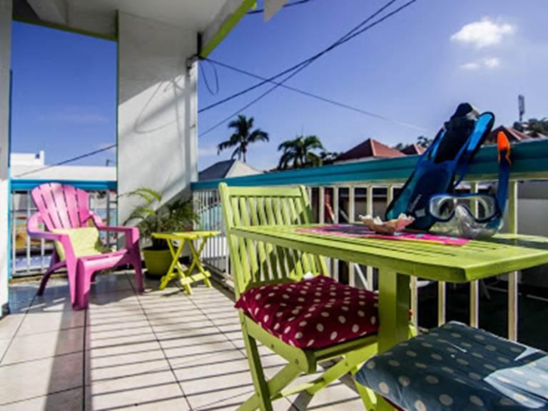 terrasse privée ch 115