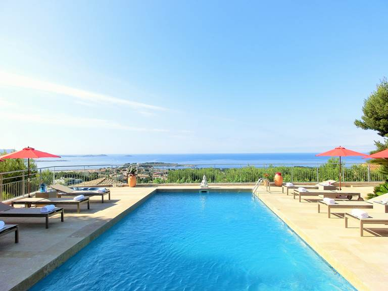 Piscine Villa Azur Golf