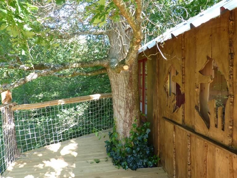 terrasse cabane des enfants