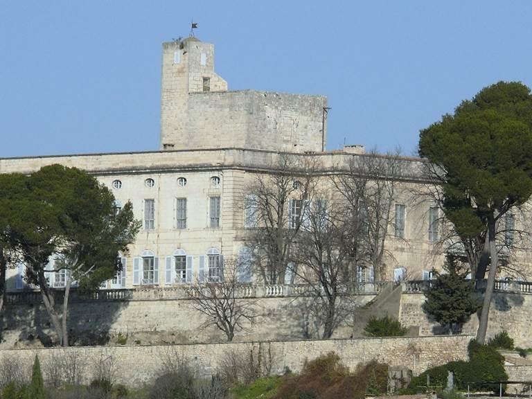Montfrin_-_Château