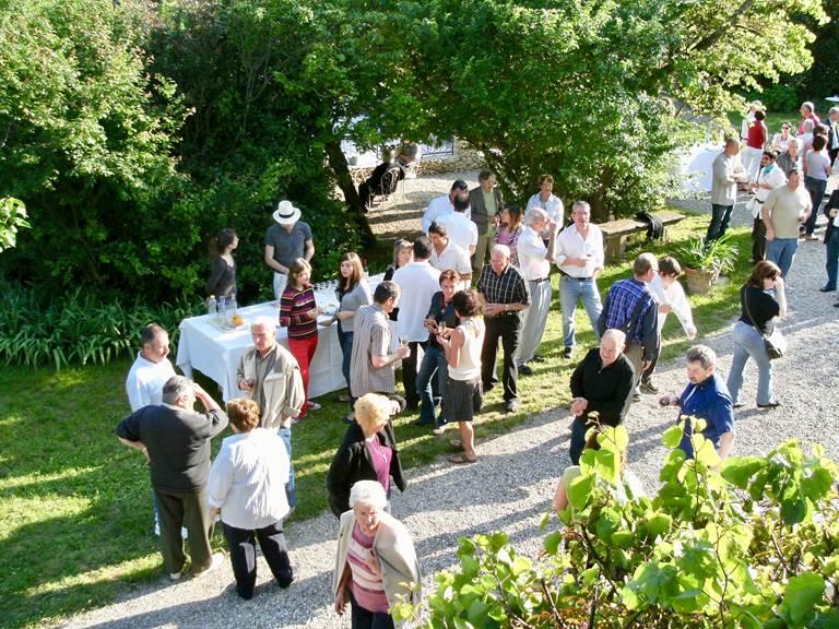Réception aux chambres d'hôtes la Rougeanne dans l'Aude