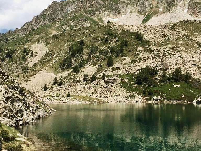 IDÉE RANDONNÉE 6  Val d'Azun Le Lac Nère  Lac plaa de prat