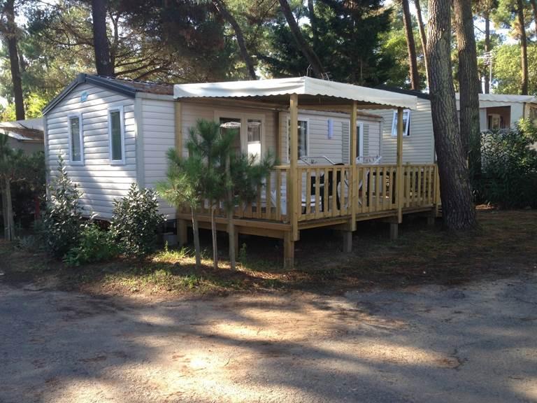 Mobil-Home Tourteau - Camping Les Pins d'Oléron - Ile d'Oléron