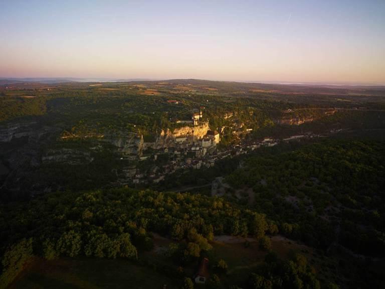 Rocamadour, Lot, à 45 km de l'Hôtel des Bains