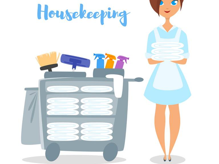 Renouvèlement linge et ménage en cours de séjour