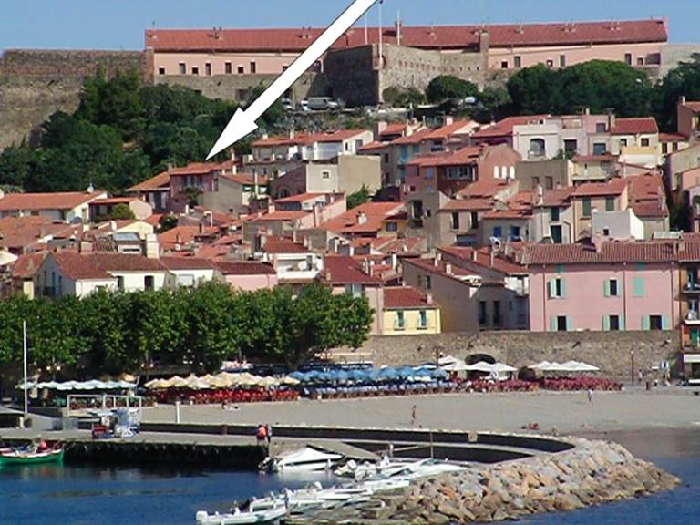 situation location appartement collioure