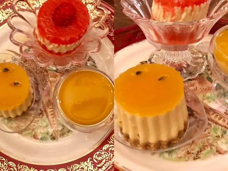 Trio de dessert