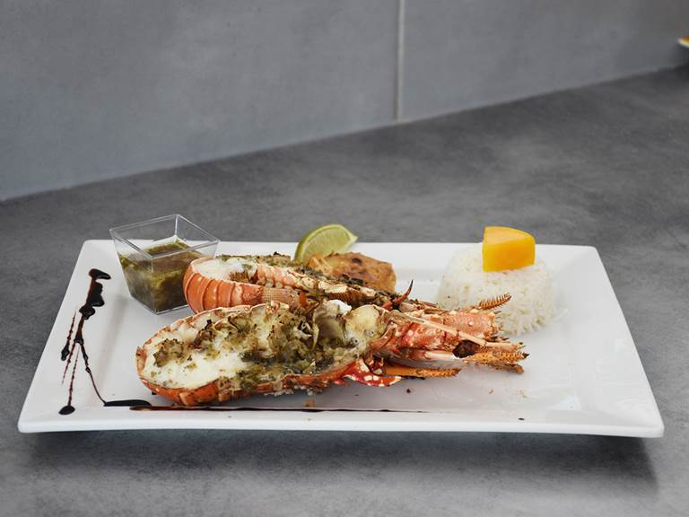 langouste restaurant guadeloupe
