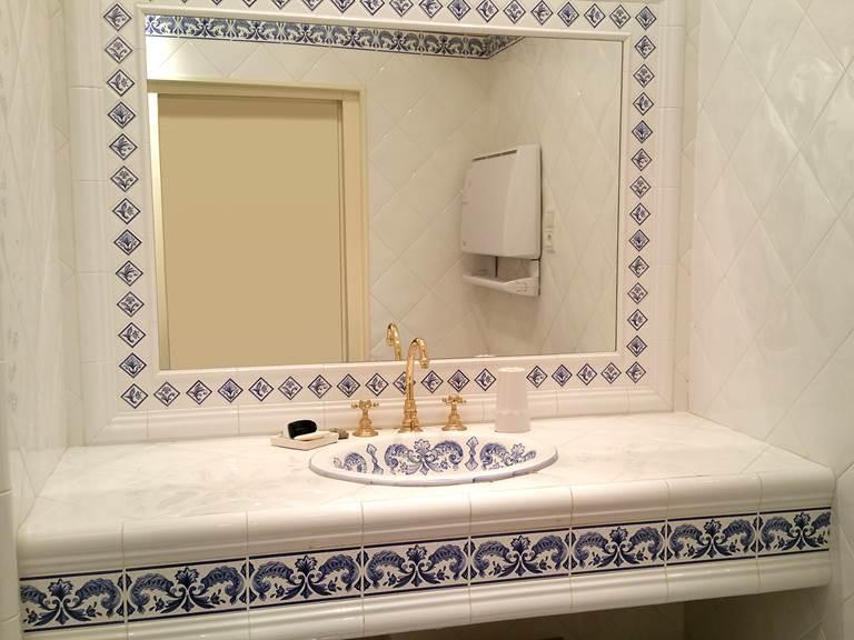 Salle de bains de la Suite avec Terrasse