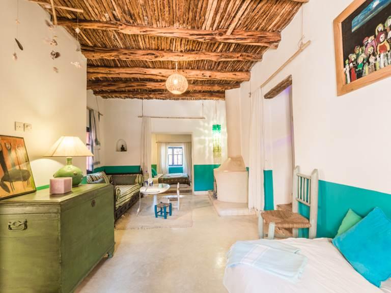 riad Baoussala Essaouira - Suite Bleue