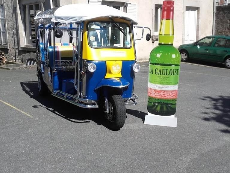 tuk-tuk distillerie du centre limoges