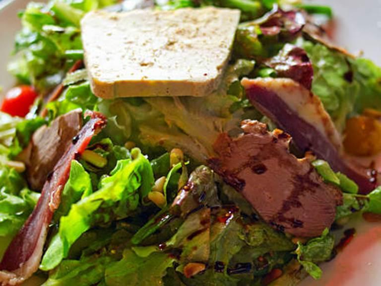 salade foie gras