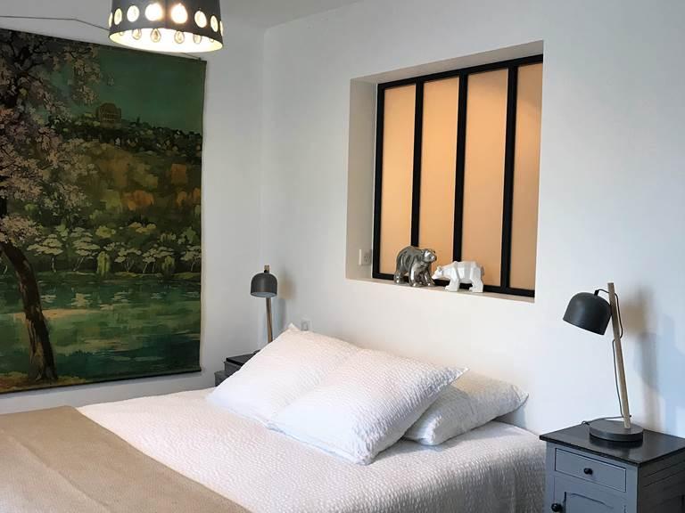 Chambre Mont Ventoux  Lit en 160x200