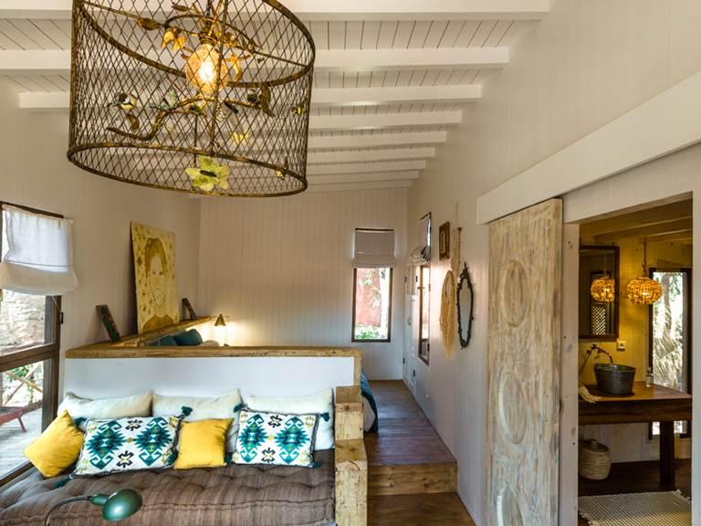 riad Baoussala Essaouira - Suite Taabiha - salon et chambre