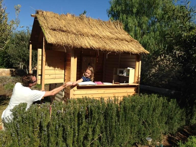petite cabane pour enfants