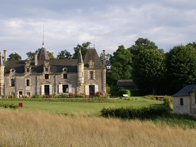 Château de la Giraudière en Val de Loire