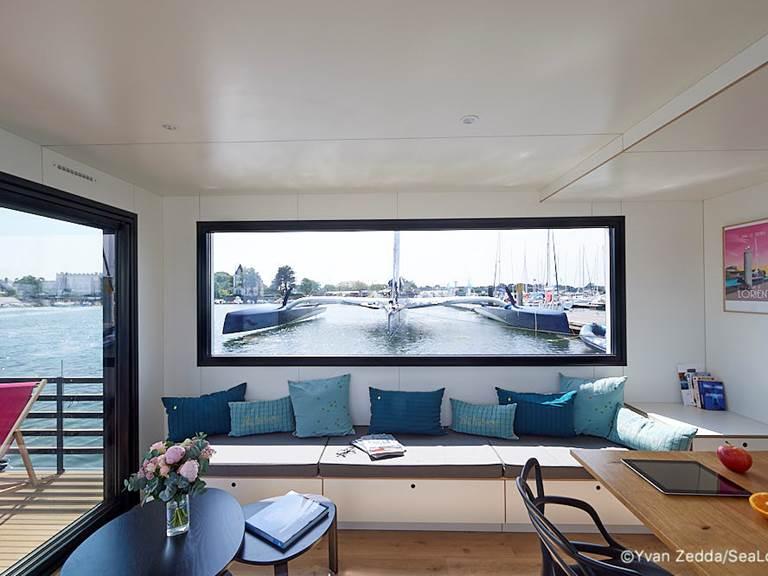 Lodge boat L'Endroit