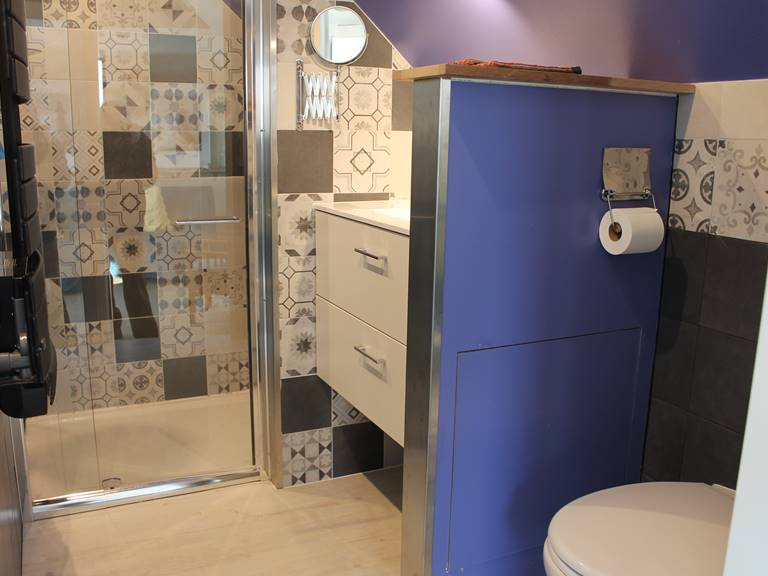salle d'eau chambres et gîtes de gouelet-ker
