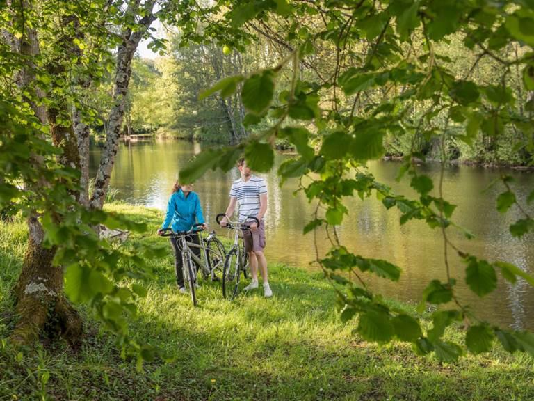Indre et Loire à vélo vive l'automne