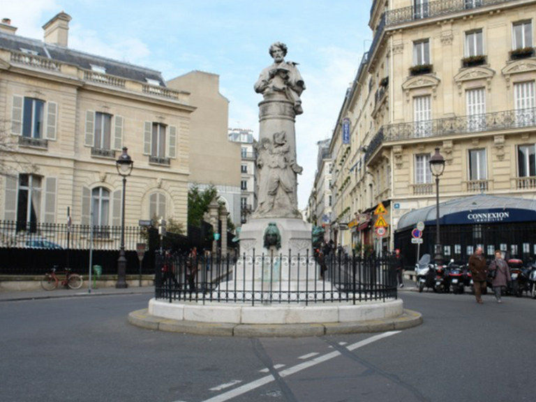 La place St Georges