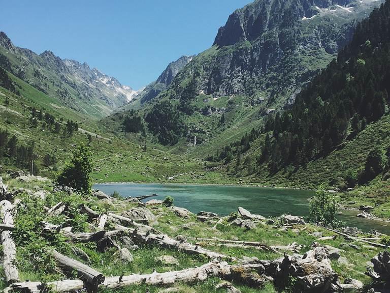 Lac de Suyen Val d'Azun Pyrénées