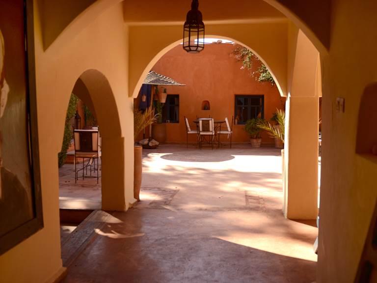 Le patio et sa couba