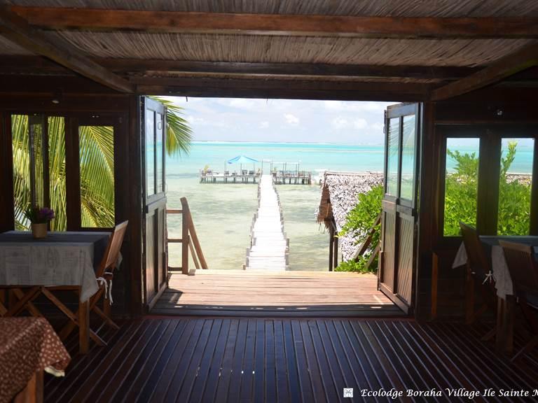 Restaurant Boraha VIllage Ile Ste Marie Madagascar 12