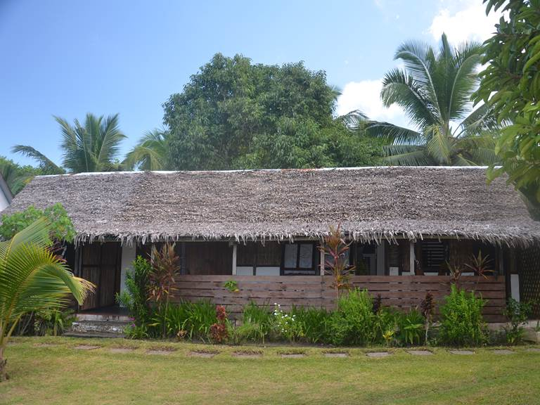 Vue d'ensemble du bungalow