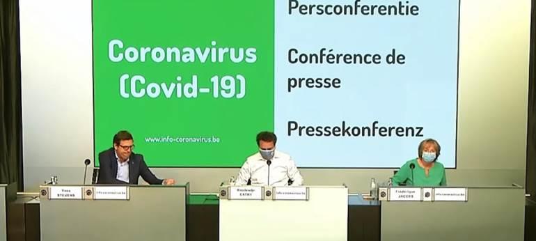 Conférence de presse Covid