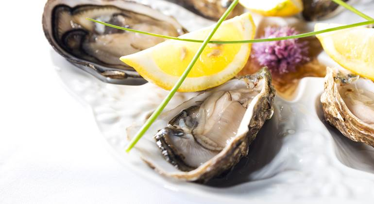 Des fruits de mer locaux