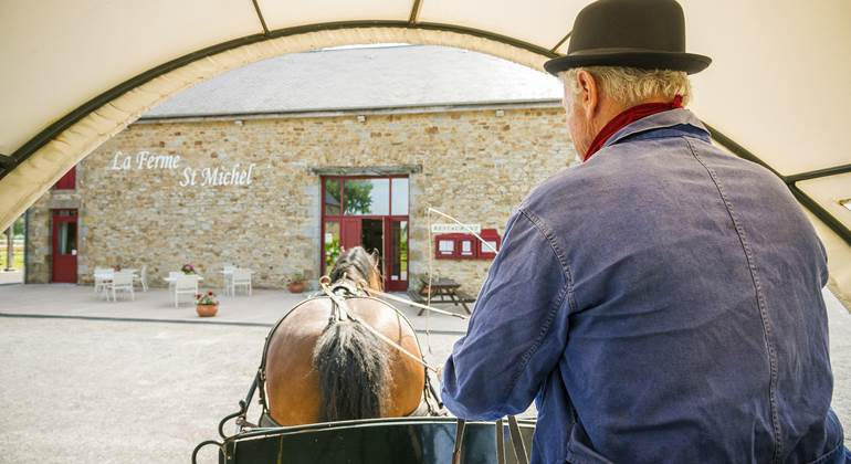 Bienvenue à notre restaurant La Ferme Saint-Michel