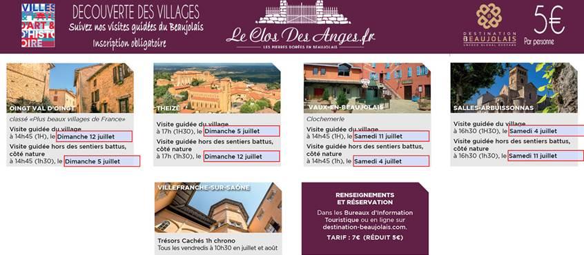 Le Clos Des Anges Decouverte  du Beaujolais01