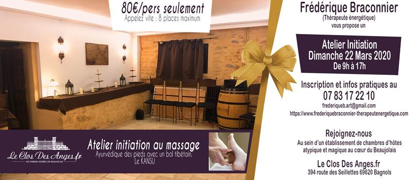 Stage Massage Le Clos Des Anges 2020