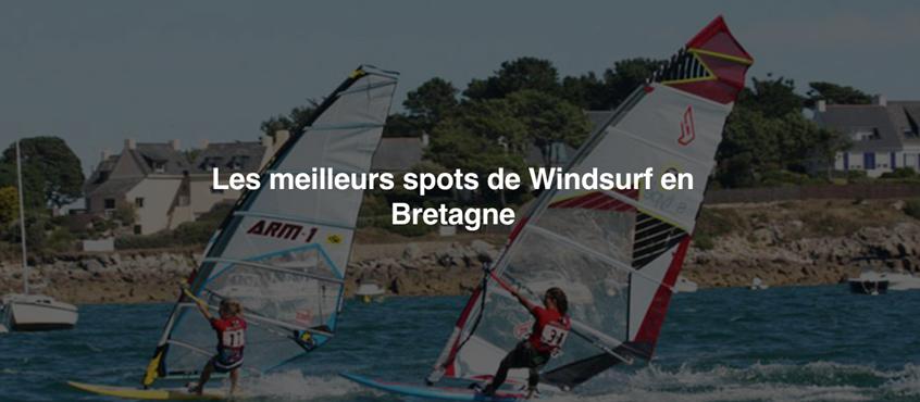 Les meilleurs spots de Windsurf en Bretagne