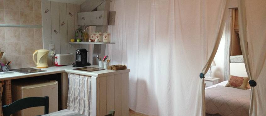 Chambre kitchenette