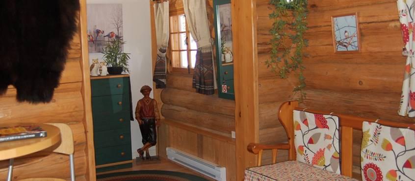 Chalet Le Puisatier pour 2 personnes au Domaine le Bostonnais, hébergement La Tuque en Mauricie, Canada