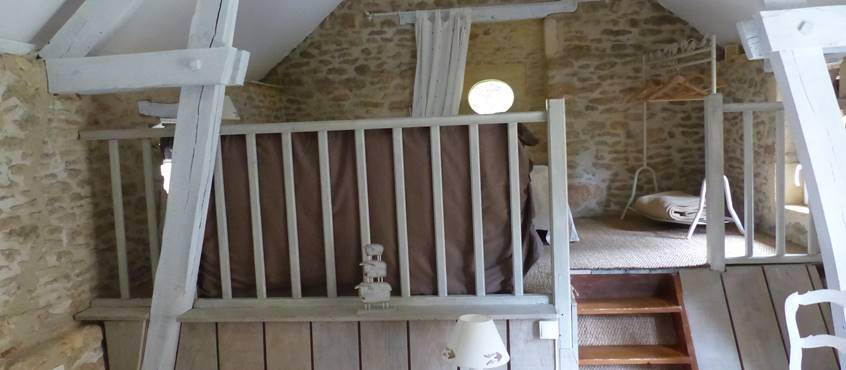 Suite Familiale - chambre de l'étage
