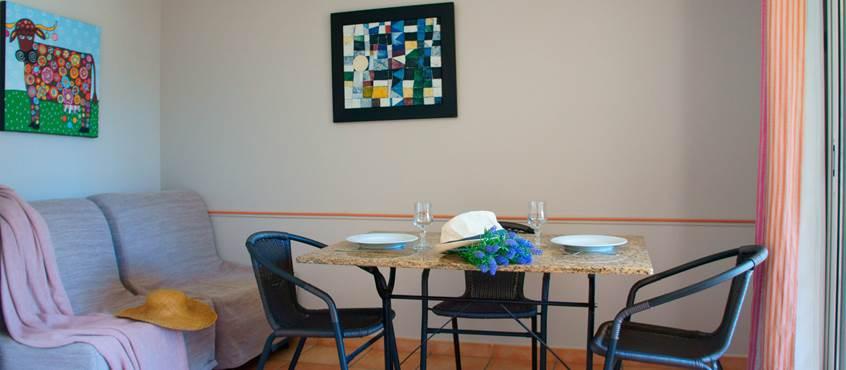 Séjour appartement 304 Residence les Peupliers Loriot du Comtat