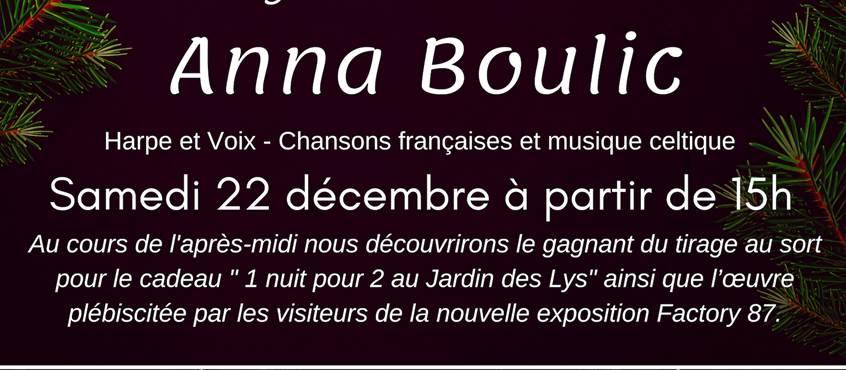 Anna Boulic, harpe et voix