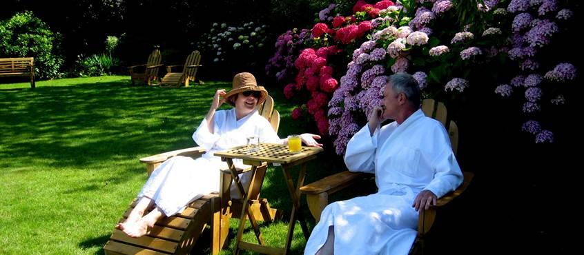 relaxation au jardin