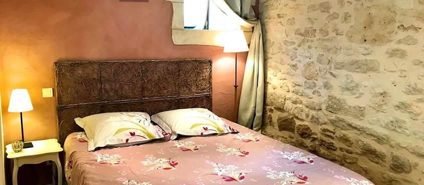 La Grangette, chambre de charme avec grand lit de 160