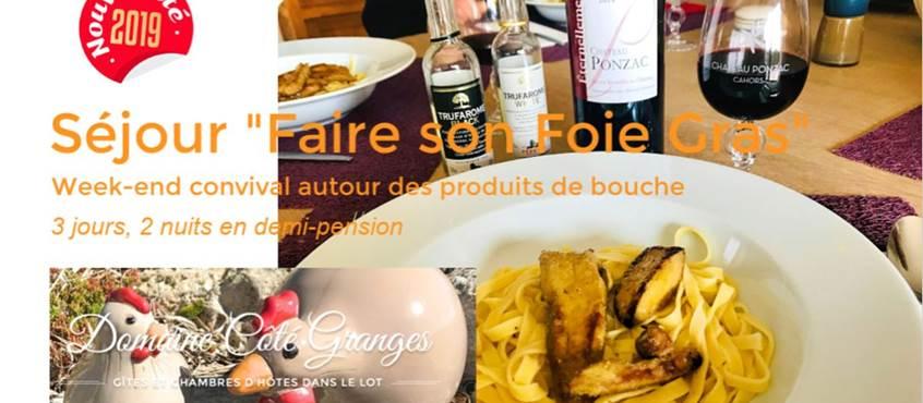 Séjour Faire son Foie Gras à Côté Granges