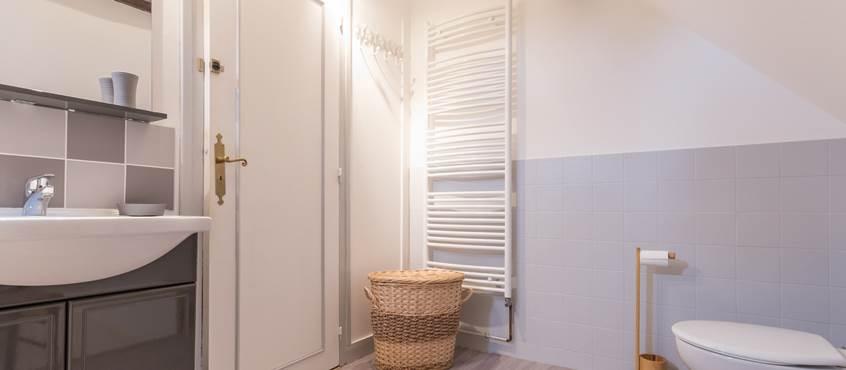 Salle de bain wc - Gîte du Petit Coq - aux3nidsfleuris