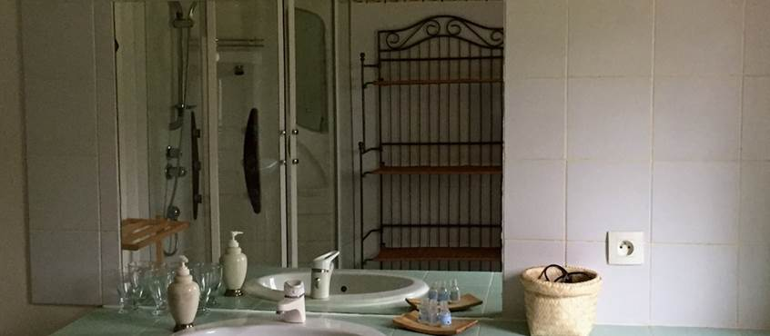 salle de bain de la Naturelle. Chambres d'hôtes en Tarn et Garonne à Montauban