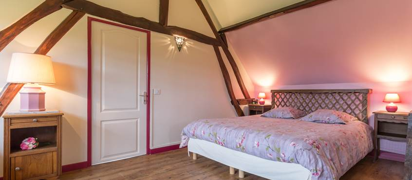 Chambre double - Gîte du Petit Coq - aux3nidsfleuris