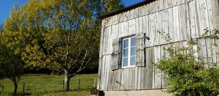 Fenêtre de la cuisine donnant sur Turenne